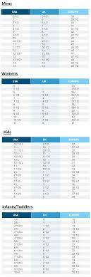 Skechers Size Guide