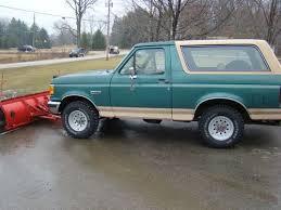 full size bronco purchase used 1990 ford full size bronco xlt in churubusco indiana