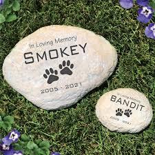 end pet memorial garden stone
