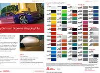 3m Vinyl Wrap Color Chart Color Change Wraps Creative Color Inc