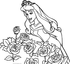 Easy Disney Princess Coloring Pages Printable Coloring Page For Kids