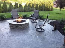 concrete patio with fire pit. Beautiful With Outdoor Kitchen Concrete Patio Fire Pit Gas Fire Pit Build A  Living Area Lava Rocks Outdoor Spaces Circular Backyard Pit  In With I