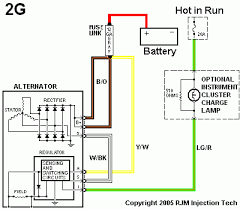 mustang alternator wiring diagram image wiring ford 2g alternator mustang unit grassroots motorsports on 89 mustang alternator wiring diagram