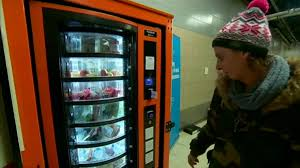 Vending Machines Manchester Unique Vending Machines For Homeless In The UK Euronews