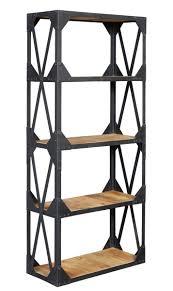 industrial reclaimed furniture. ascot industrial reclaimed large bookcase furniture