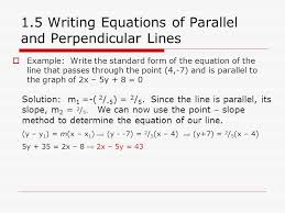 write equations of parallel and perpendicular lines jennarocca