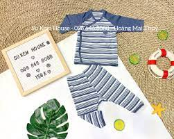 Bộ quần áo sơ sinh Bamboo by LIL cúc chéo – SuKem House