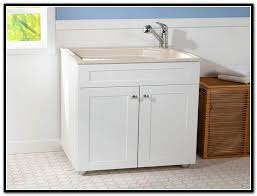 laundry room utility sink cabinet home design ideas