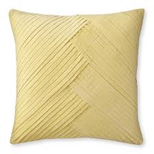 pale yellow pillows. Exellent Pale Pleated Velvet Pillow Cover 22 On Pale Yellow Pillows T