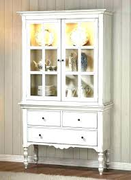 oak china hutches white cabinet with glass doors cabinets hutch