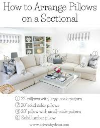 How To Decorate Couch With Pillows