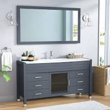 bathroom vanities home depot. Wonderful Bathroom Charming His And Her Bathroom Vanities Single Vanity Set With  Mirror Home Depot Expo On E