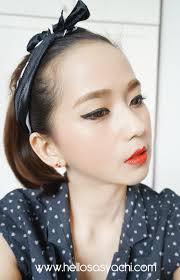 trik a makeup korea ala tutorial