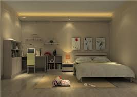 Night Lamps For Bedroom 3d Night View Of The Bedroom Lighting 3d House