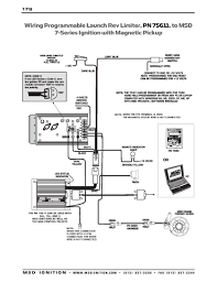 msd al tach more information msd 6al tach wiring diagram on chevy hei ignition wiring diagram