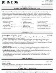 Sports Resume Examples Resume Layout Com