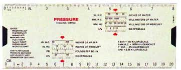 Pitot Pressure Conversion Chart Dwyer English Metric Pressure And Flow Conversion Slide