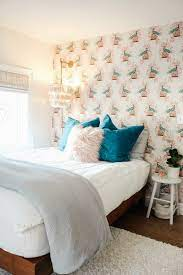 Small Bedroom With Accent Wall ...