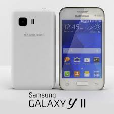 3D Samsung Galaxy Young 2 white