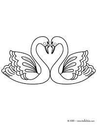 Small Picture Love swans coloring pages Hellokidscom