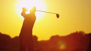 Image result for scorching sun on golf course