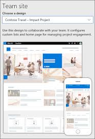 Create A Team Site In Sharepoint Office Support