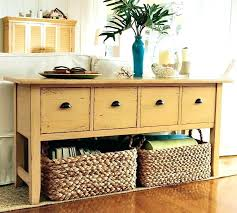 sofa table with storage baskets. Storage Sofa Table Distressed Yellow Mustard Baskets Cabinet . With E
