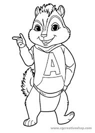Alvin Superstar Disegno Da Colorare