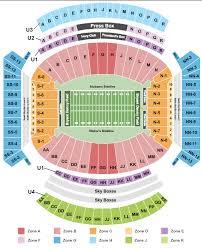 Neyland Stadium Seating Chart 2018 Tennessee Volunteers Football Tickets Ncaa College Rad