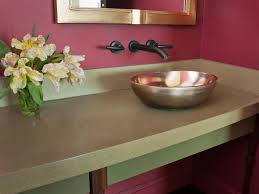 Choosing Bathroom Countertops HGTV Awesome Granite Bathroom Designs