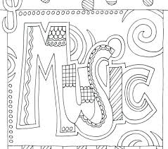 Coloring Pages Easy Rustic Coloring Pages Music Music Coloring Pages