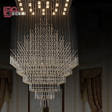 hotel large modern chandeliers new high quality large modern chandeliers crystal lamp