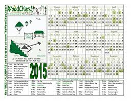 Free Calendars Download 2015 The Woodchips