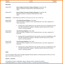 14 College Resume Template Download Graphic Resume