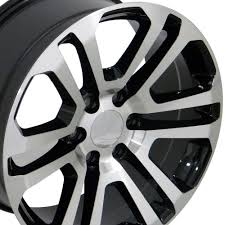 All Chevy chevy 22 inch rims : Amazon.com: 20x9 Wheels Fit GM Trucks - Sierra Style Rims - Black ...