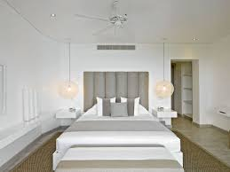 White bedroom design by Kelly Hoppen