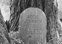 Addie Johnson Grave