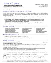 sub teacher resumes - Exol.gbabogados.co