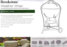 weather wrap outdoor furniture covers brookstone weather wrap grill cover kitchen faucets