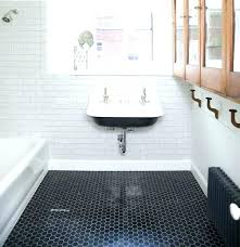 hex tile bathroom hexagon tile bathroom black tiles wall hexagon tile bathroom installing hexagon tile bathroom