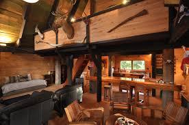 Interior  Interior Log Homes Decor Barth Log Home Greatroom Model - Model homes interior design