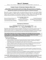 Investment Banking Analyst Resume Template