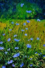 wild flowers 911 painting pol ledent wild flowers 911 art print