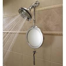 The Telescoping Fogless Shower Mirror.