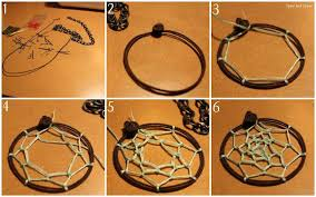 How To Make Your Own Dream Catcher Necklace Cool Step By Step Instructions For How To Make A Mini Dream Catcher