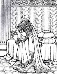 Small Picture Queen Esther Bible Coloring Pages Coloring Coloring Pages