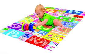 new foam padded play mat rug baby toddler children kid double