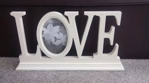 love picture sign and frame