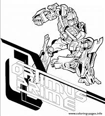 Small Picture transformers optimus prime Coloring pages Printable