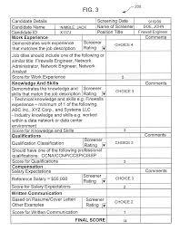 patent us20110078154 recruitment screening tool google patentsuche